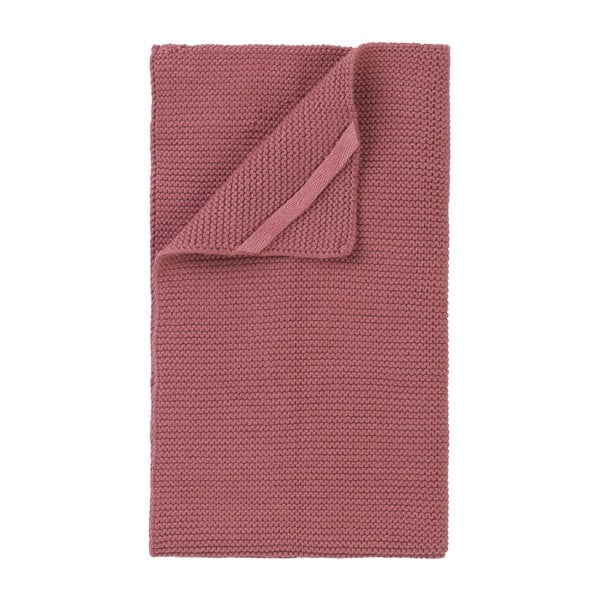 Tehlovočervená pletená utierka Blomus Wipe, 55×32 cm