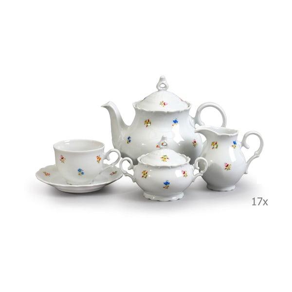 Set veselă din porțelan pentru ceai Thun Ophelia