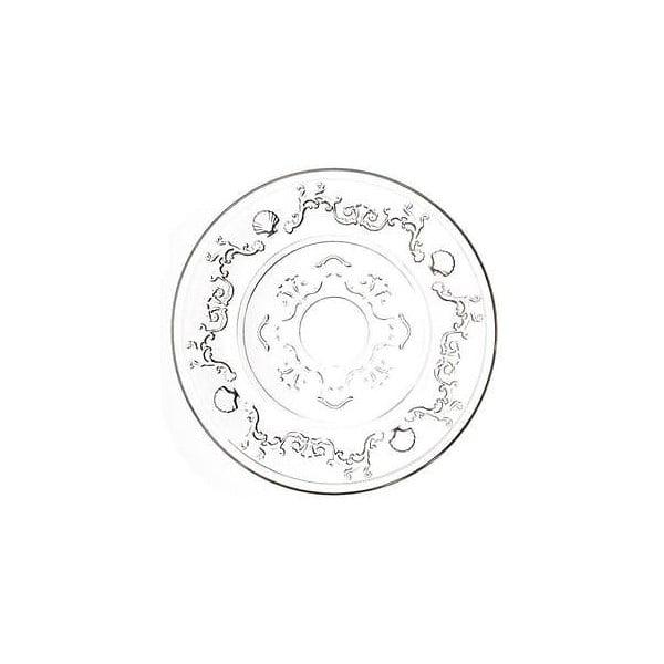 Skleněný talíř Ego Dekor Versailles, ⌀15cm