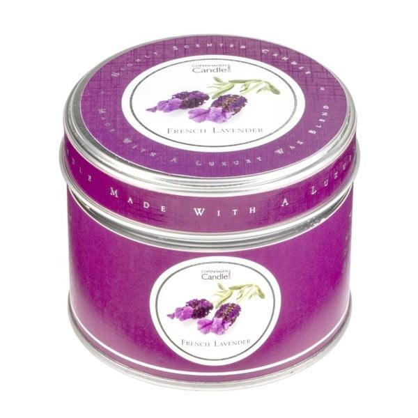 Aroma svíčka v plechovce French Lavender, doba hoření 32 hodin