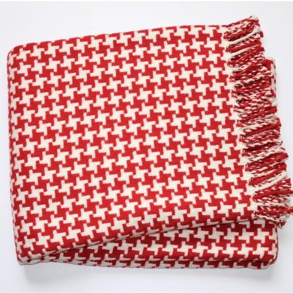 Deka Pearls Red, 140x180 cm