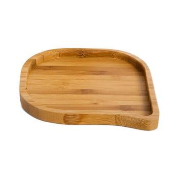 Platou servire din bambus Bambum Locco, ⌀ 10 cm