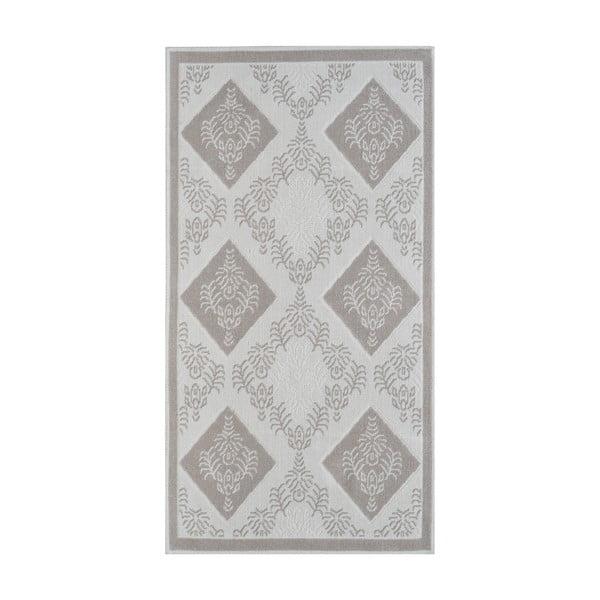 Béžový odolný koberec Vitaus Azalea, 100x150cm