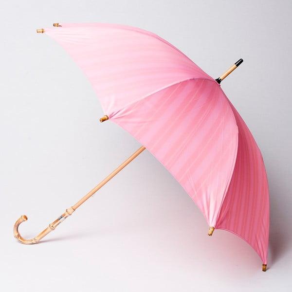 Deštník Alvarez Stripe Long Pink