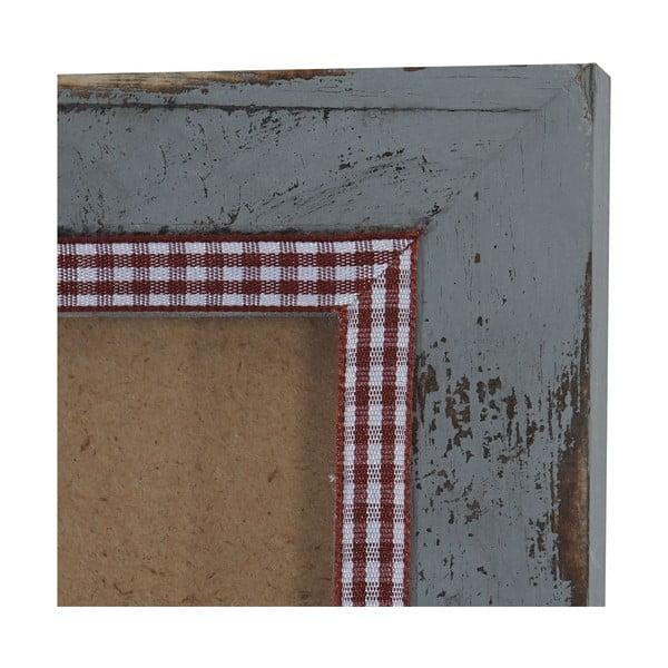 Šedý dřevěný rám na fotografie Mendler Shabby, 26x36cm