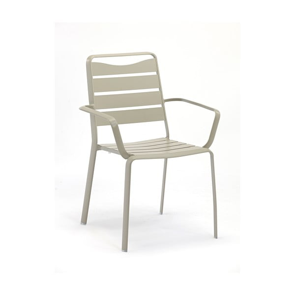 Sada 4 zahradních židlí z hliníku s područkami Ezeis Spring