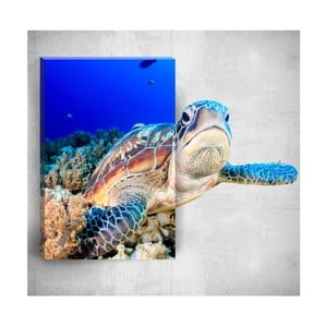 Nástěnný 3D obraz Mosticx Sea Turtle, 40 x 60 cm