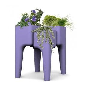 Designový květináč KIGA Medium 88x68 cm, levandulový