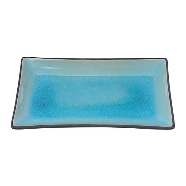 Farfurie cu aspect ceramic Tokyo Design Studio Glassy, 21,5 x 12,7 cm