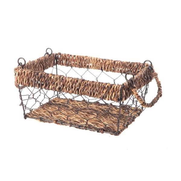 Proutěný košík Wicker, 23 cm