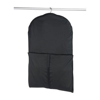 Husă pentru haine Wenko, 150 x 60 cm, negru imagine
