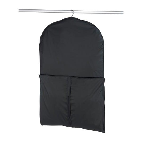Czarny pokrowiec na garnitur Wenko, 150x60 cm