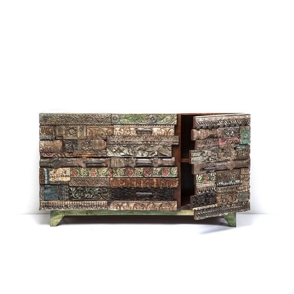 Komoda z mangového dřeva Kare Design Surprise Puzzle