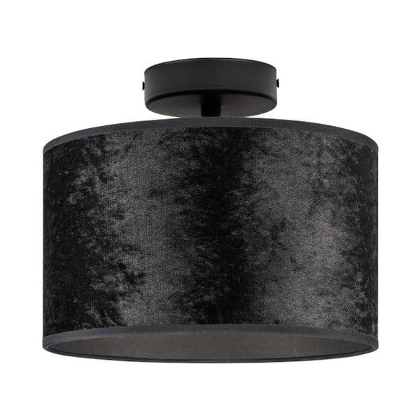 Czarna lampa sufitowa Bulb Attack Quince, ⌀ 25 cm