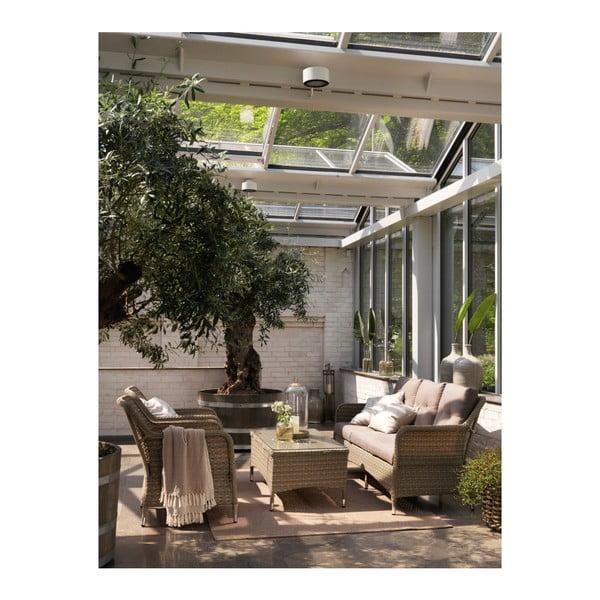 Sada 2 béžových zahradních křesel Brafab Colby
