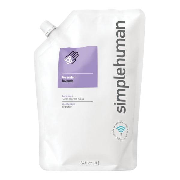 Hydratační tekuté mýdlo s vůní levandule simplehuman