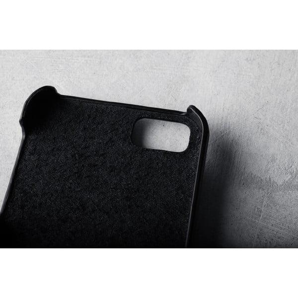 Peněženkový obal Mujjo na telefon iPhone 5 Black