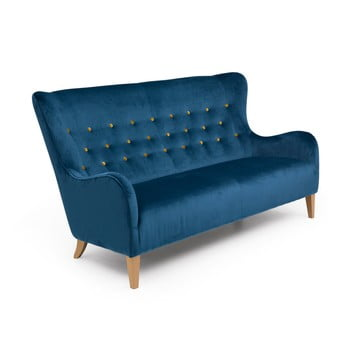 Canapea 3 locuri Max Winzer Medina albastru