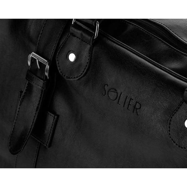 Pánská taška Solier S16, černá