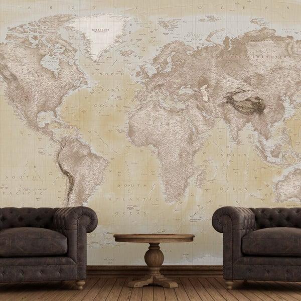 Velkoformátová tapeta Map, 315x232cm
