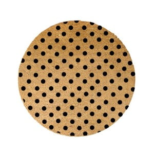 Kulatá rohožka Artsy Doormats Dots, ⌀70cm