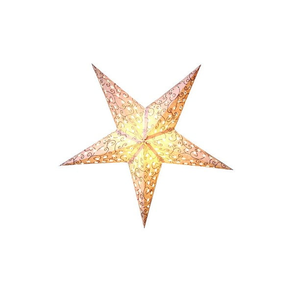 Závěsná hvězda Best Season Five Snow Silver