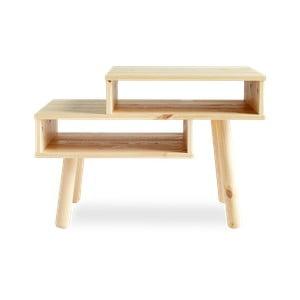 Konferenční stolek z borovicového dřeva v přírodní barvě Karup Haku