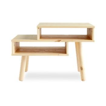 Măsuță de cafea din lemn de pin Karup Design Haku, natural imagine