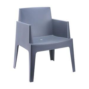 Šedá zahradní židle Resol Urban