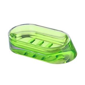 Zelená podložka pod mýdlo Wenko Paradise Green