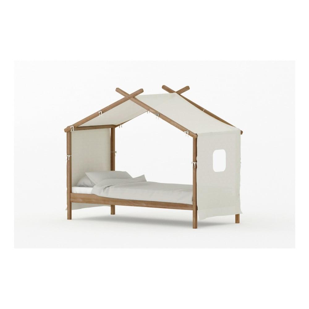 Dětská postel z borovicového dřeva BLN Kids House, 200 x 90 cm