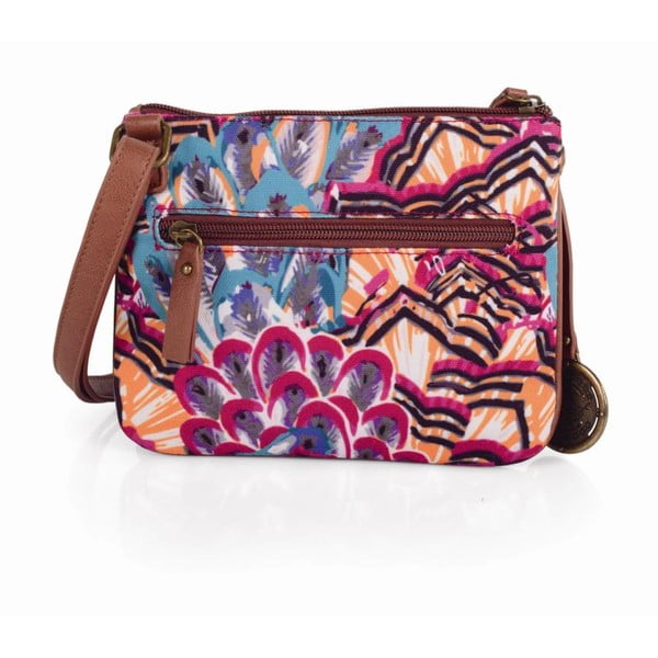 Pestrobarevná kabelka SKPA-T, 20 x 16 cm
