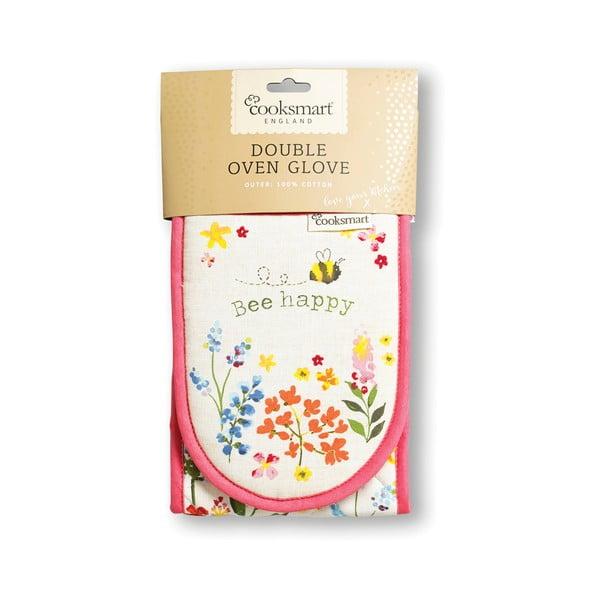 Bee Happy pamut dupla edényfogó - Cooksmart ®