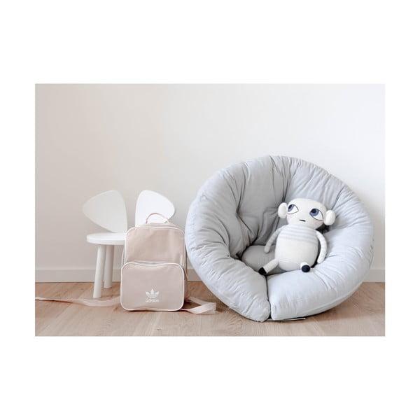 Fotoliu extensibil pentru copii Karup Design Mini Nido Grey