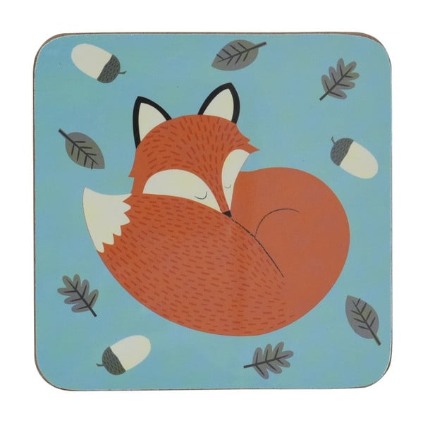 Suport farfurii Rex London Rusty The Fox, 10,5 x 10,5 cm
