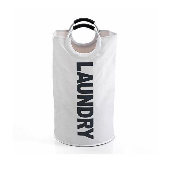 Biely kôš na bielizeň Tomasucci Laundry Bag, objem 60 l