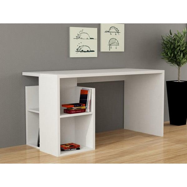 Pracovní stůl Worms, bílý