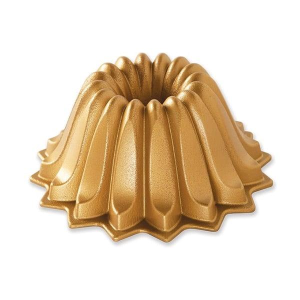 Forma na bábovku ve zlaté barvě Nordic Ware Lotus, 1,18l