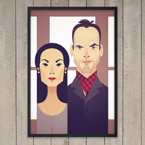 Plakát Lucy and Johny, 29,7x42 cm