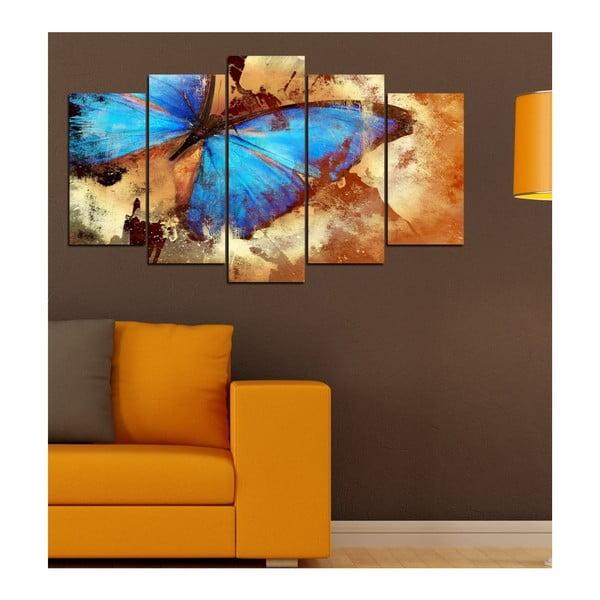 Tablou din mai multe piese Insigne Erwin, 102 x 60 cm