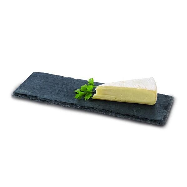 Černé břidlicové servírovací prkénko Boska Serving Board Slate, 33 x 11,5 cm
