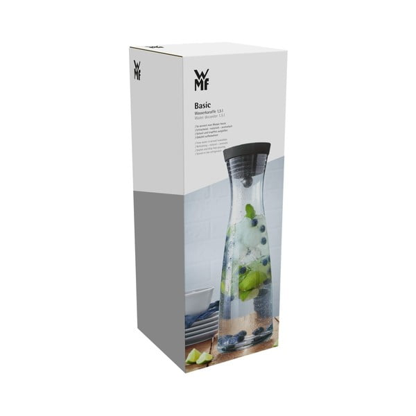 Skleněná karafa na vodu WMF, 1,5 l