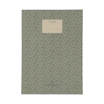 Caiet A Simple Mess Jena Hegbe Green, 25 x 18 cm de la A Simple Mess