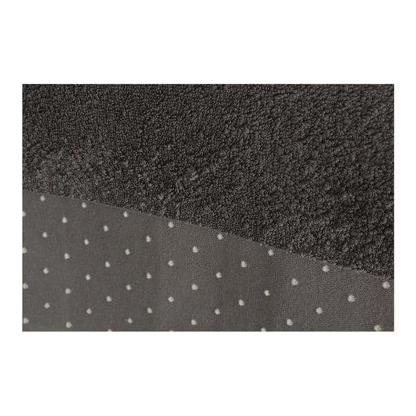 Sada 2 šedých osušek bavlněných Patricia, 90x150cm