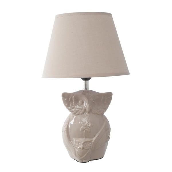 Béžová stolní lampa Mauro Ferretti Gufo
