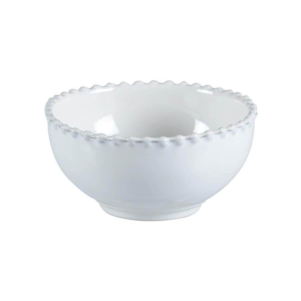 Bílá kameninová miska Costa Nova Pearl, ⌀16cm