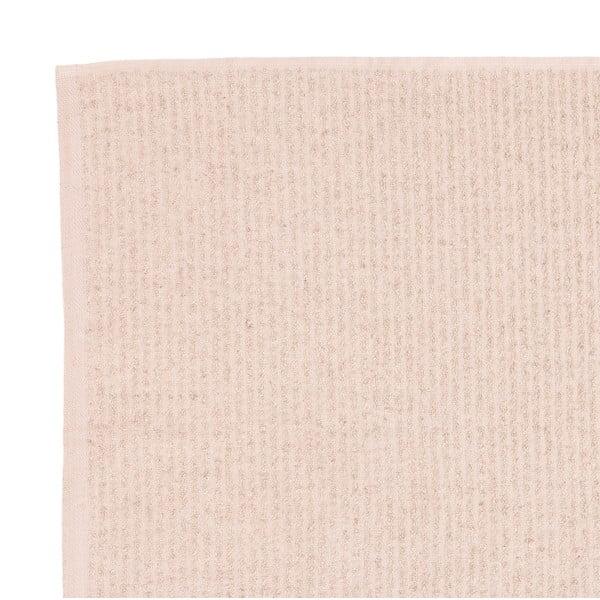Sada 2 béžových froté ručníků Casa Di Bassi Stripe, 50 x 100 cm
