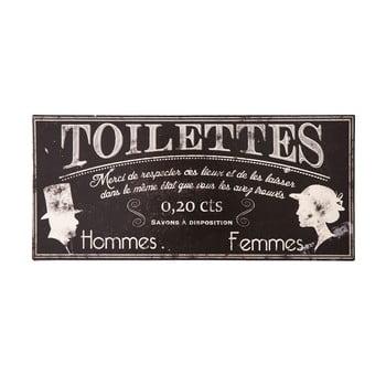 Plăcuță de metal Antic LIne Toilettes