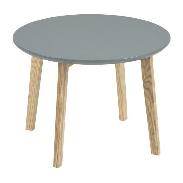 Šedý odkládací stolek Actona Molina, ⌀50cm