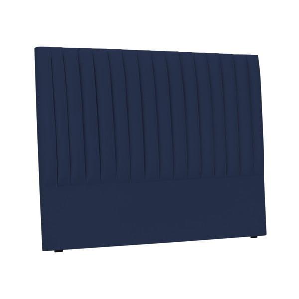 Tmavě modré čelo postele Cosmopolitan design NJ, 180x120cm